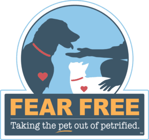 Fear Free Veterinarian Logo